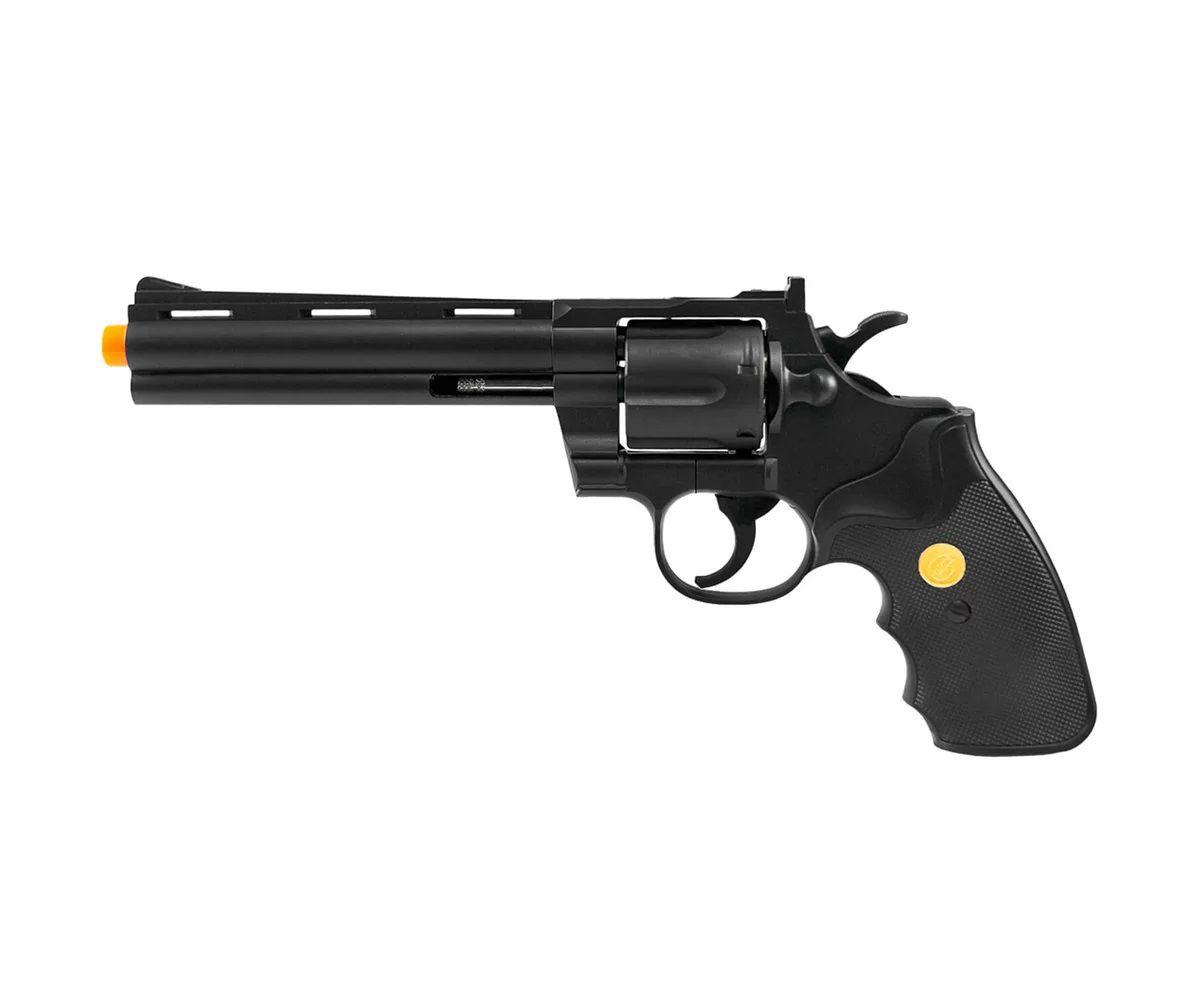Revolver de Airsoft Spring G36 Preto 6mm