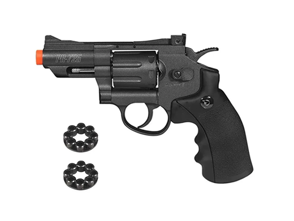 Revolver Pressão Co2 Chumbinho Gamo Pr-725 Full Metal 4.5mm