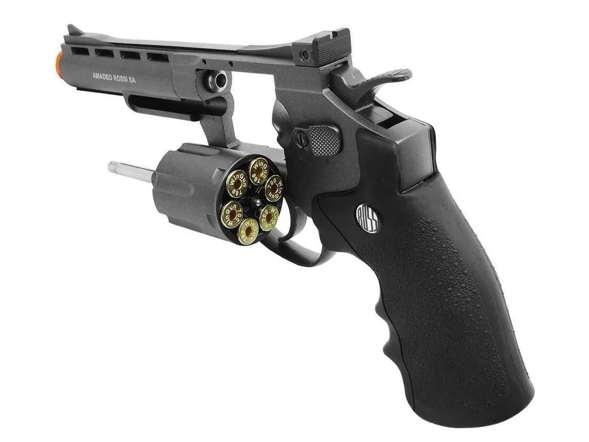 Revolver Pressão Rossi 701 Metal 4Pol Co2 Airgun 4.5mm K2