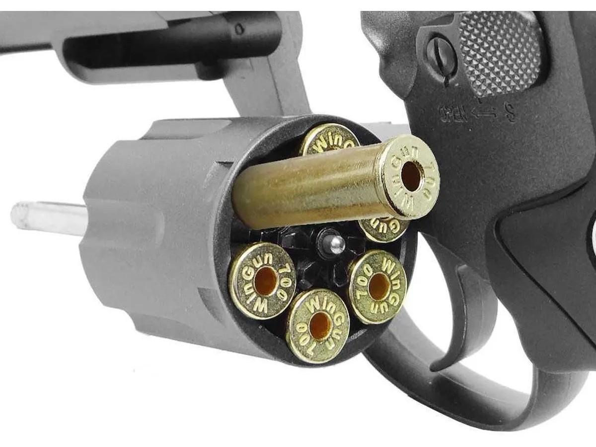 Revolver Pressão Rossi 701 Metal 4Pol Co2 Airgun 4.5mm K4