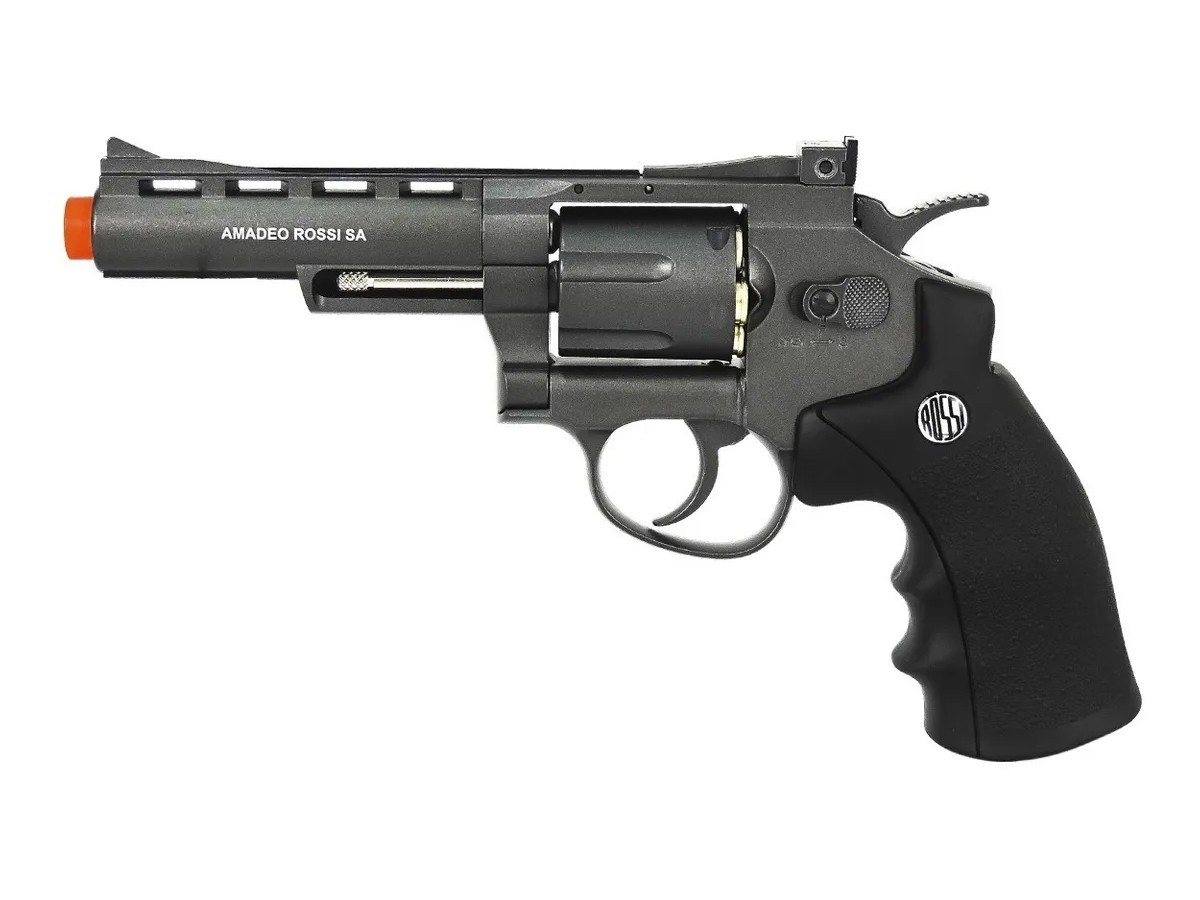 Revolver Pressão Rossi 701 Metal Esfera Aço Airgun Co2 4.5mm