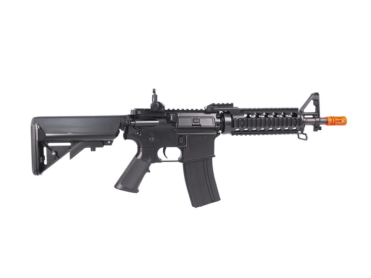 Rifle Airsoft Cyma M4 CQB Cm505 Rajada Aeg Elétrica 6mm