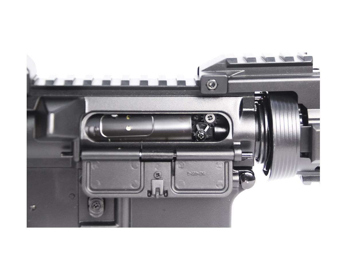 Rifle Airsoft Cyma M4 CQB Cm505 Rajada Aeg Elétrica 6mm K2