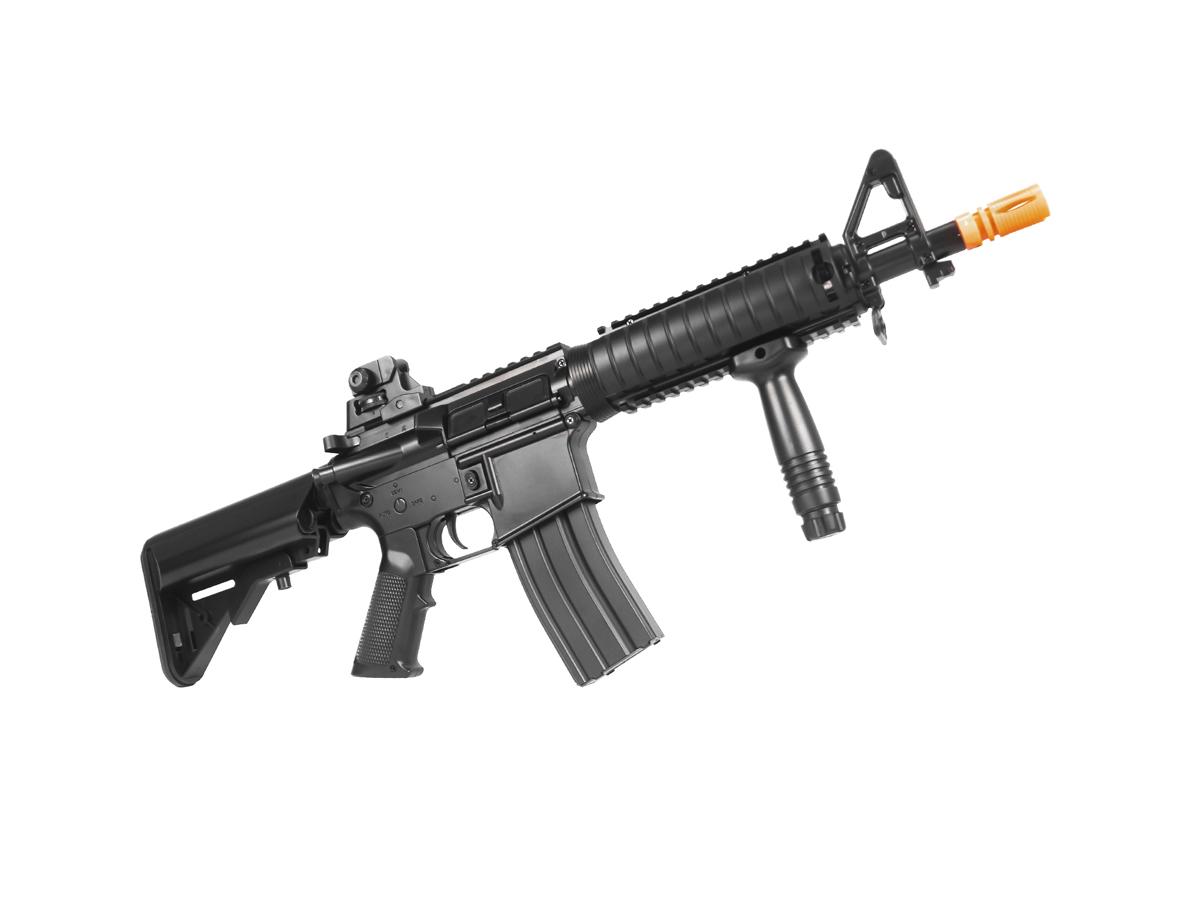 Rifle Airsoft Cyma M4 Ris CQB Rajada Aeg Elétrica 6mm K2
