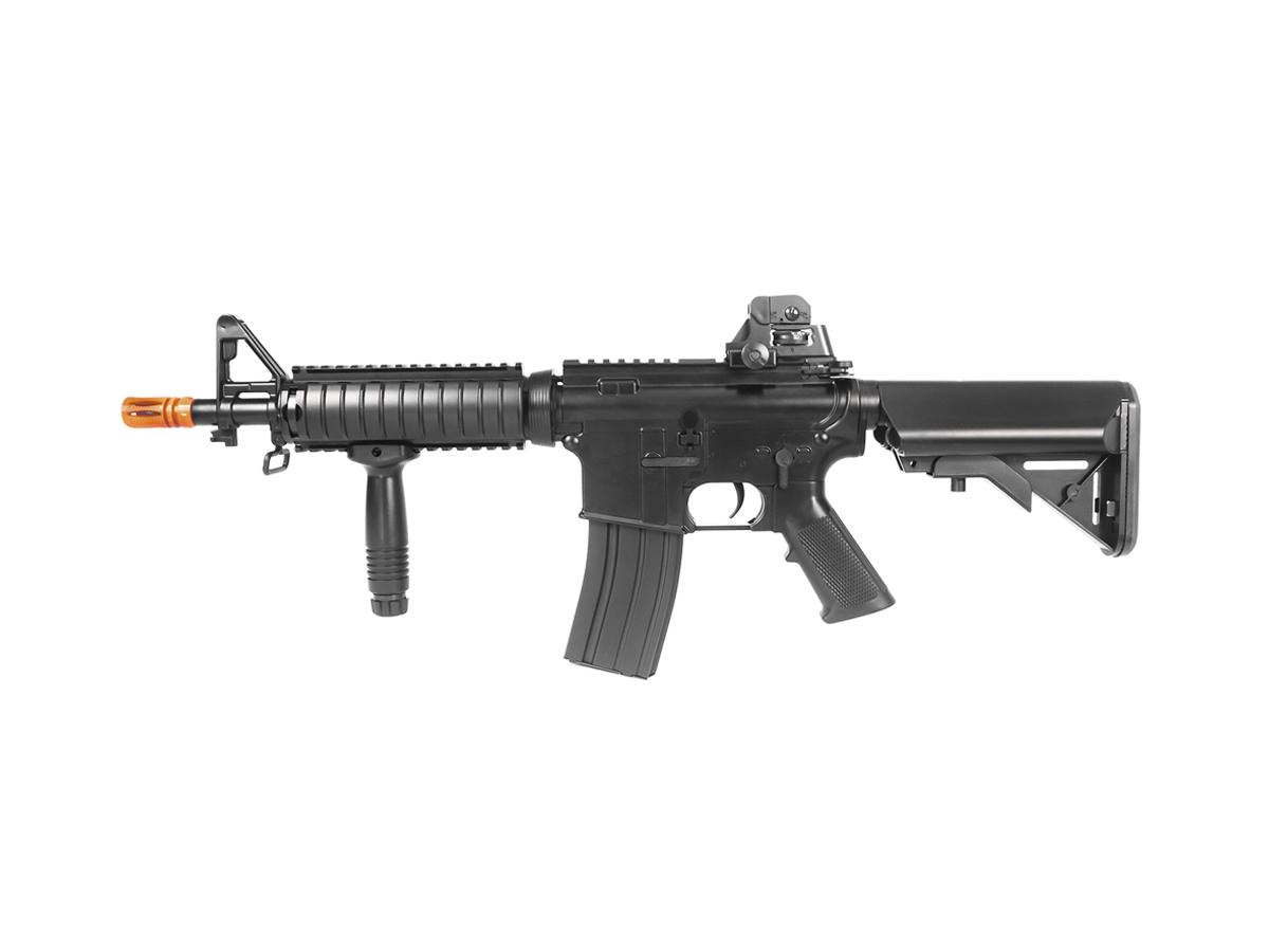 Rifle Airsoft Cyma M4 Ris CQB Rajada Aeg Elétrica 6mm Kit 1