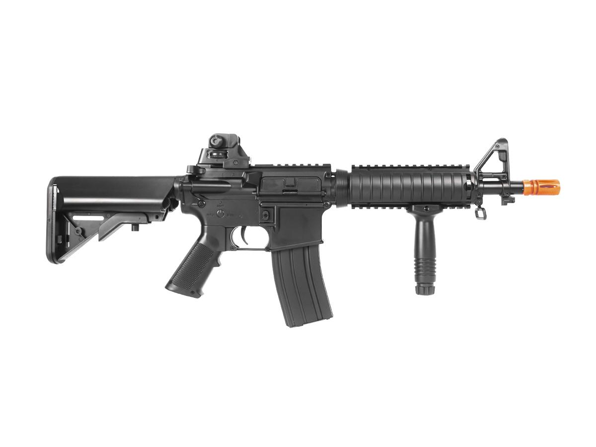 Rifle Airsoft Cyma M4 Ris CQB Rajada Aeg Elétrica 6mm Kit 4