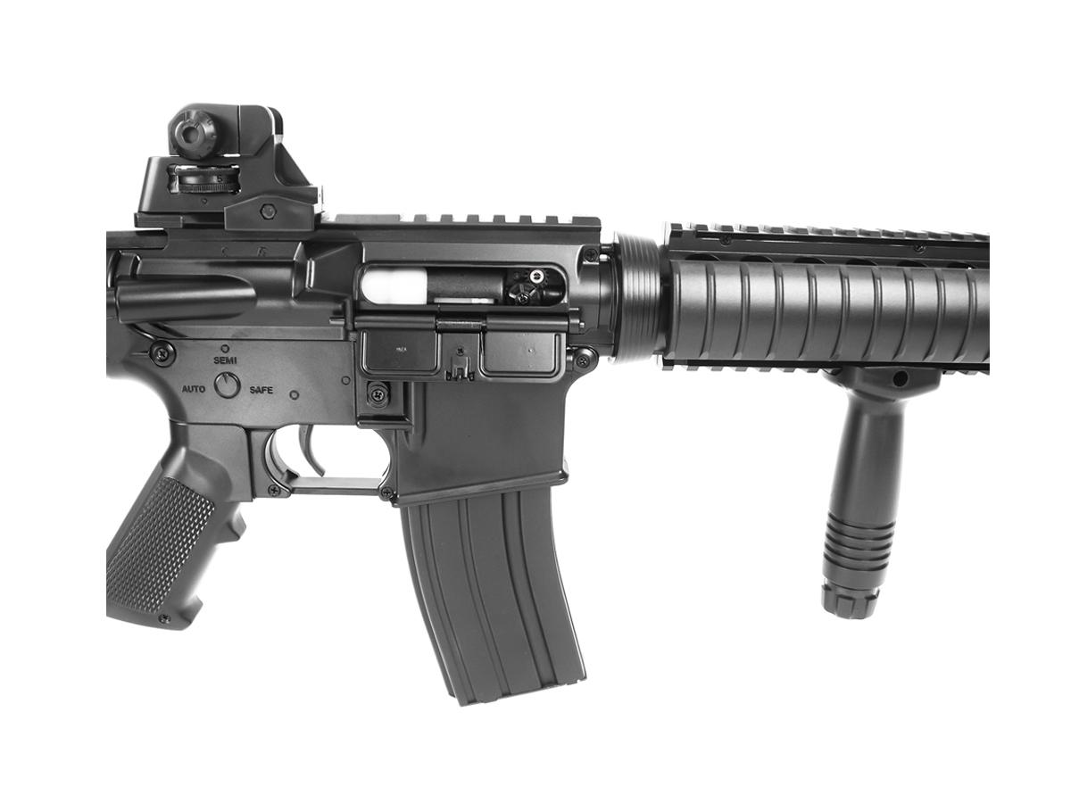 Rifle Airsoft Cyma M4 Ris CQB Rajada Aeg Elétrica 6mm Kit 5