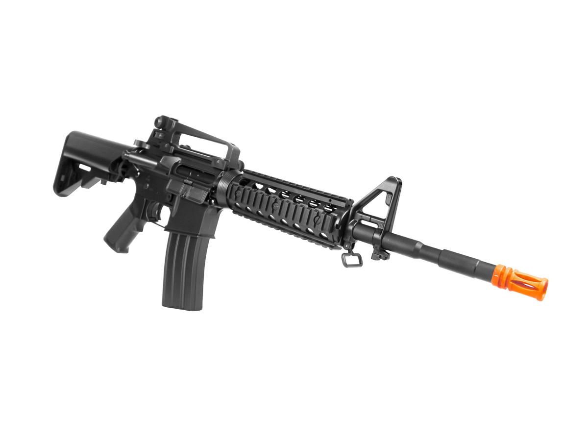 Rifle Airsoft Cyma M4A1 Ris Cm507 Rajada Aeg Eletrica 6mm H2