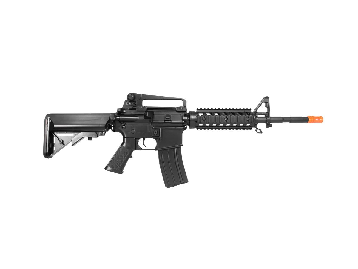 Rifle Airsoft Cyma M4A1 Ris Cm507 Rajada Aeg Eletrica 6mm H4