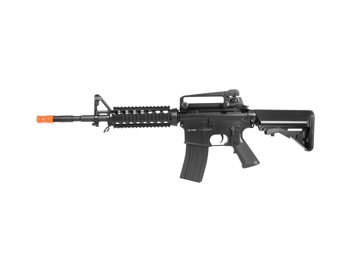 Rifle Airsoft Cyma M4A1 Ris Cm507 Rajada Aeg Eletrica 6mm H6