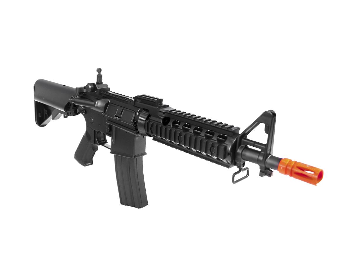 Rifle Airsoft M4 Cyma CQB Rajada Aeg Elétrica 6mm Glock Kit3