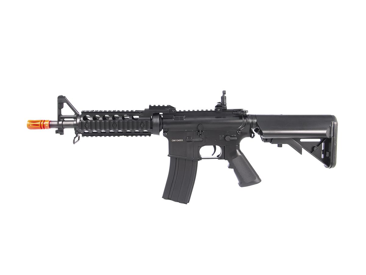 Rifle Airsoft M4 Cyma CQB Rajada Aeg Elétrica 6mm Glock Kit4