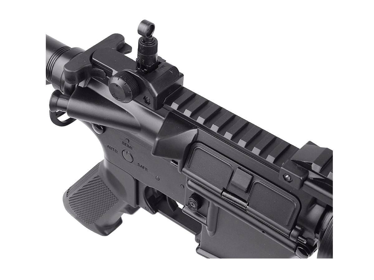 Rifle Airsoft M4 Cyma CQB Rajada Aeg Elétrica 6mm Glock Kit6