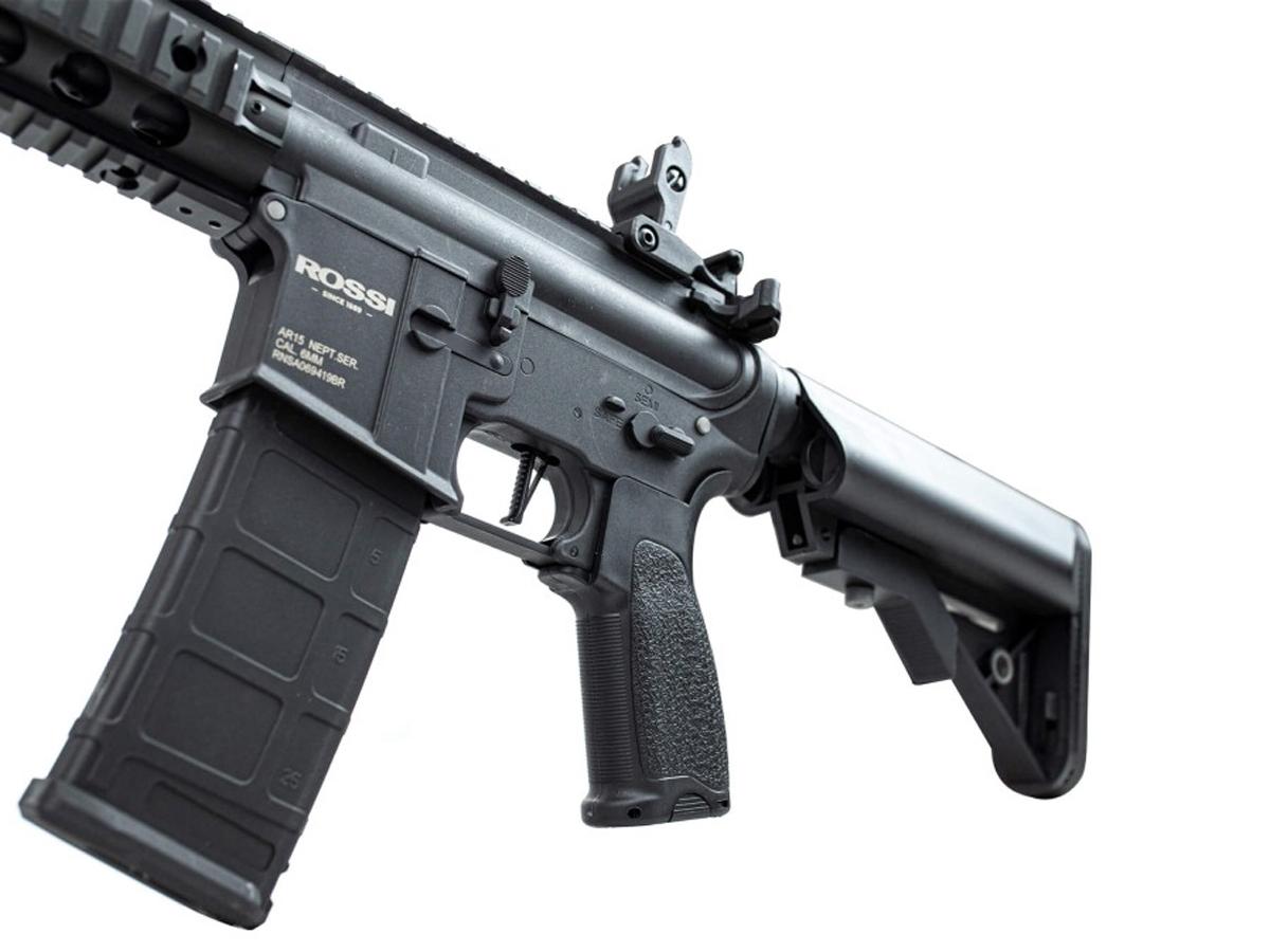 Rifle Airsoft M4 Rossi Ar15 Neptune 8p Aeg Rajada 6mm
