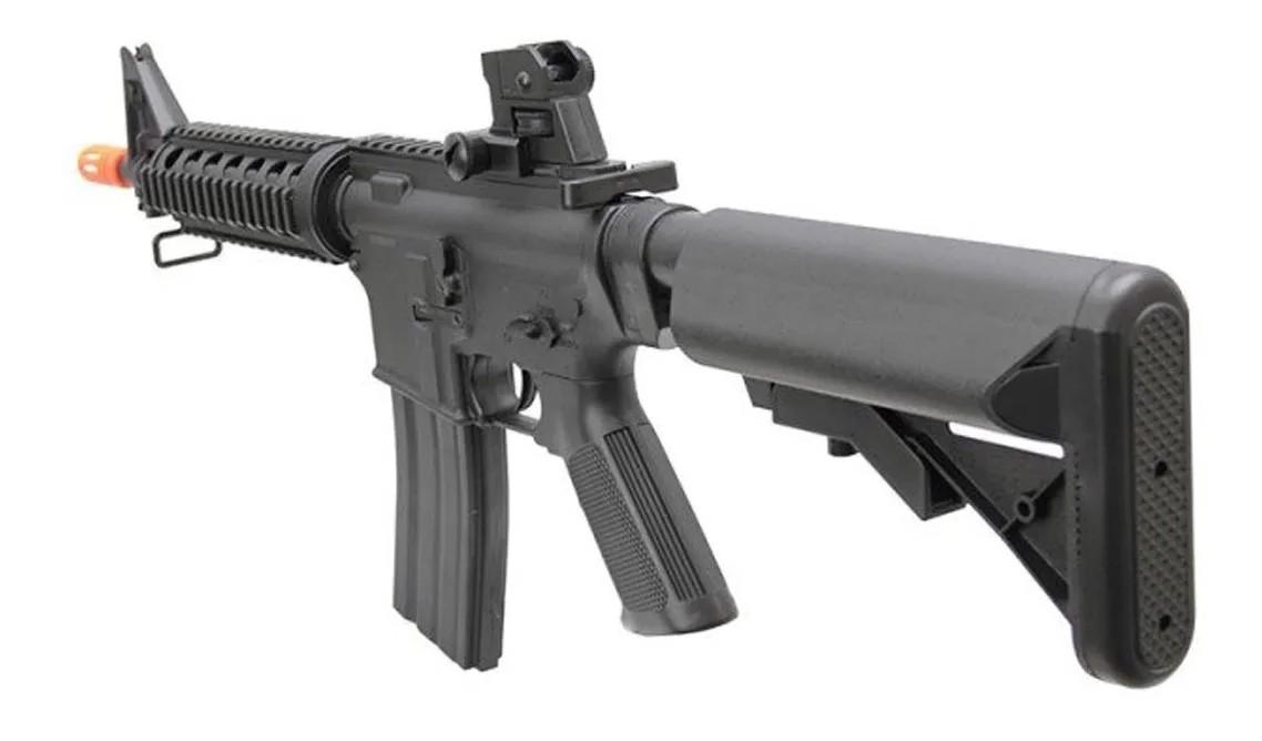 Rifle Airsoft M4a1 Ris Vigor Fuzil Spring 6mm + 5000 Bbs