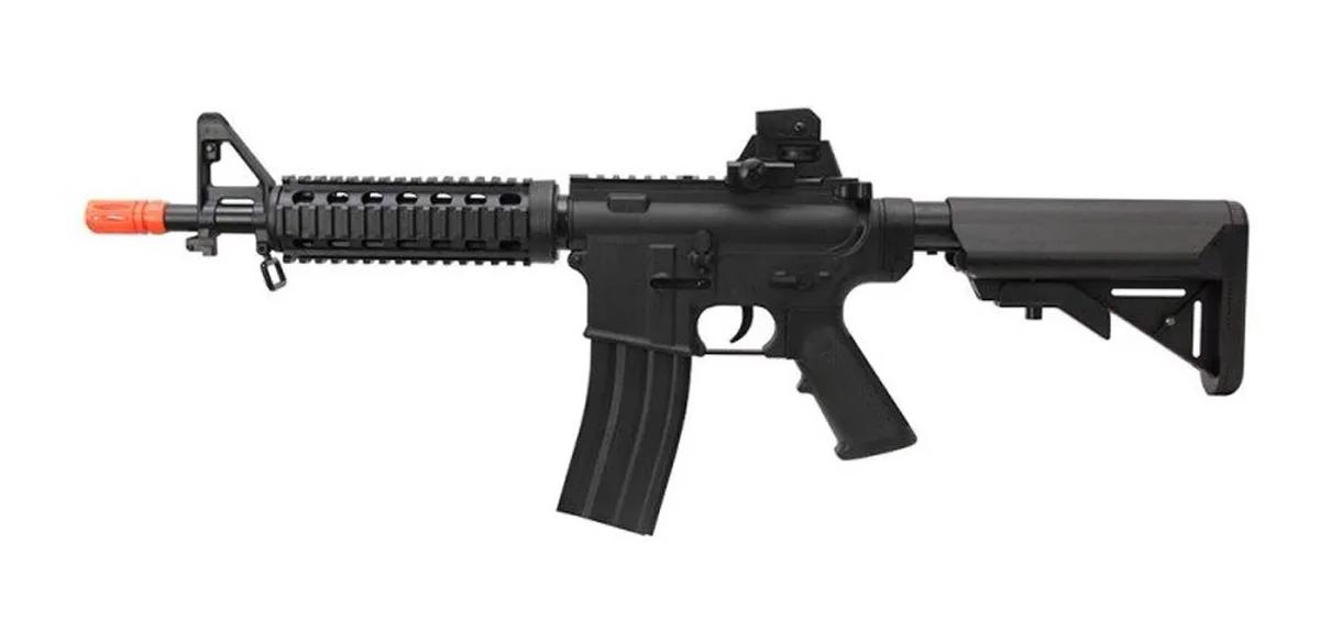 Rifle Airsoft M4a1 Ris Vigor Fuzil Spring 6mm + Bbs 0.20g 1000un
