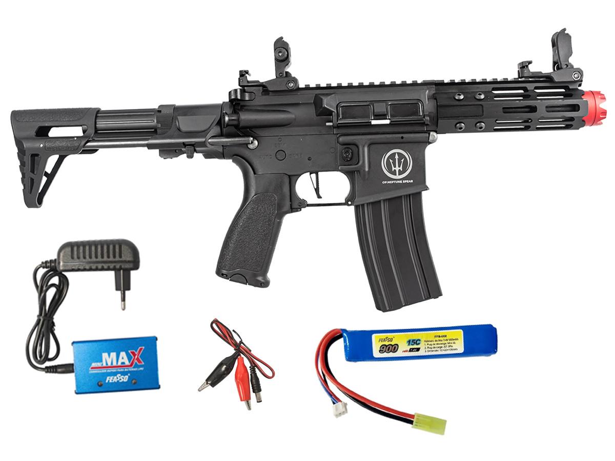 Rifle de Airsoft AEG M4 AR15 Neptune PDW