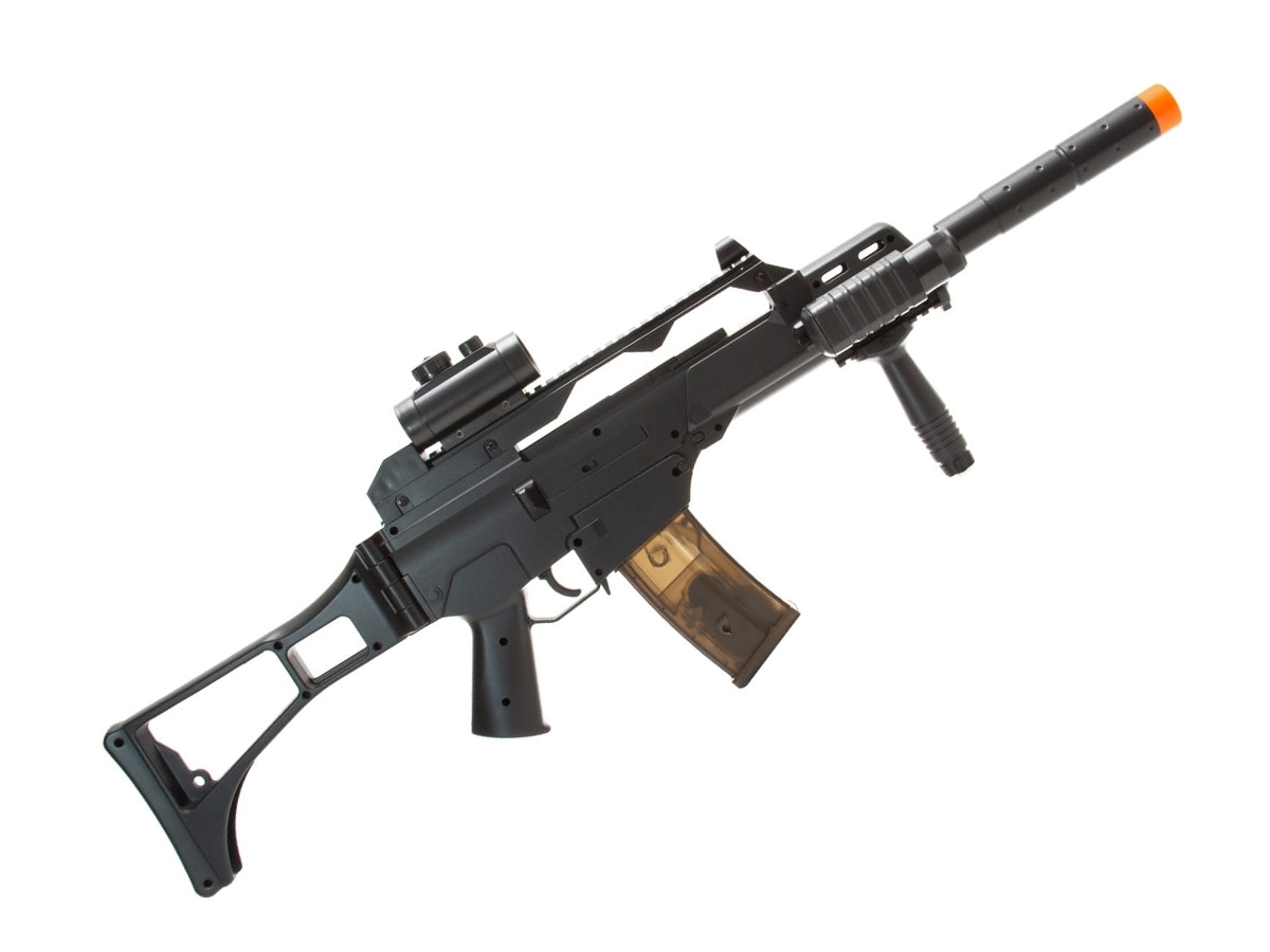 Rifle de Airsoft G36 Elétrica Cm021 Rajada Aeg Cyma 6mm