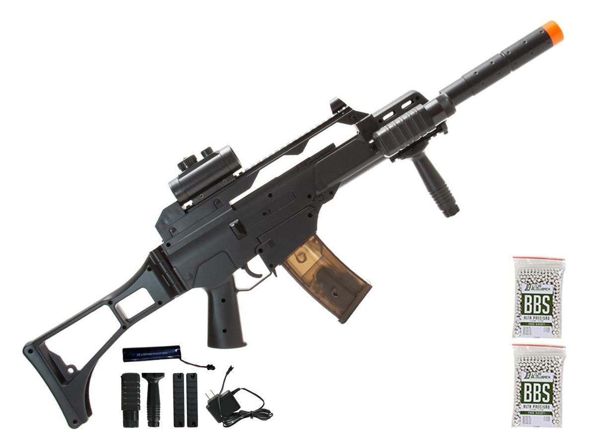 Rifle de Airsoft AEG G36 CM021  Cyma + 2000 Bbs 0,12g loja Blowback