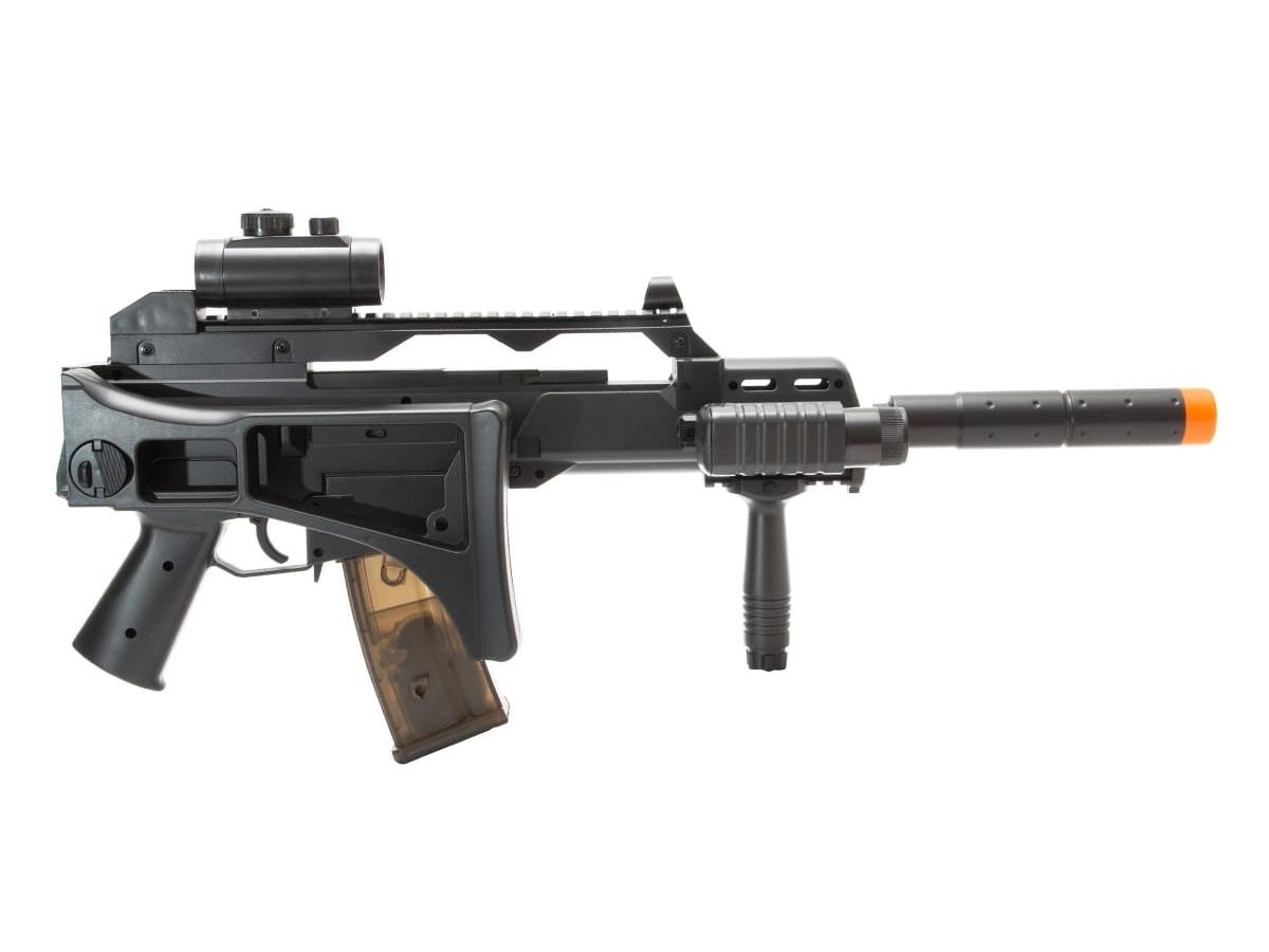 Rifle de Airsoft G36 Elétrica Cm021 Rajada Aeg Cyma 6mm K2