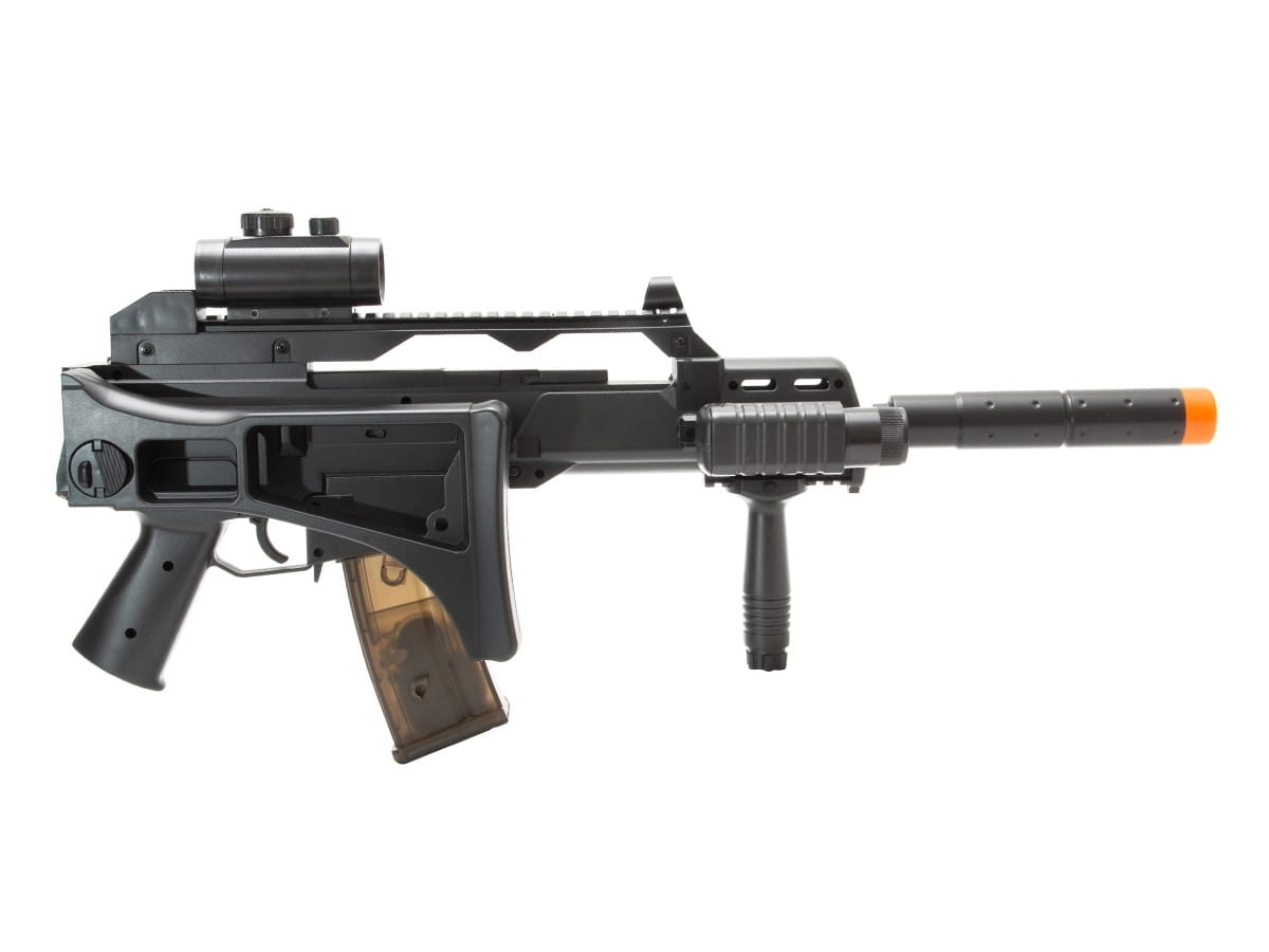 Rifle de Airsoft G36 Elétrica Cm021 Rajada Aeg Cyma 6mm K8