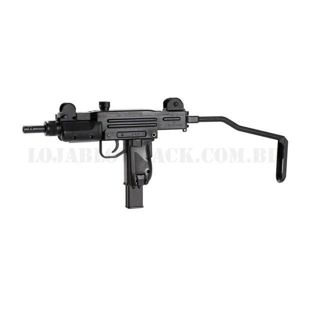Sub Metralhadora AirGun UZI 4,5 mm - Co2 GBB - BlowBack