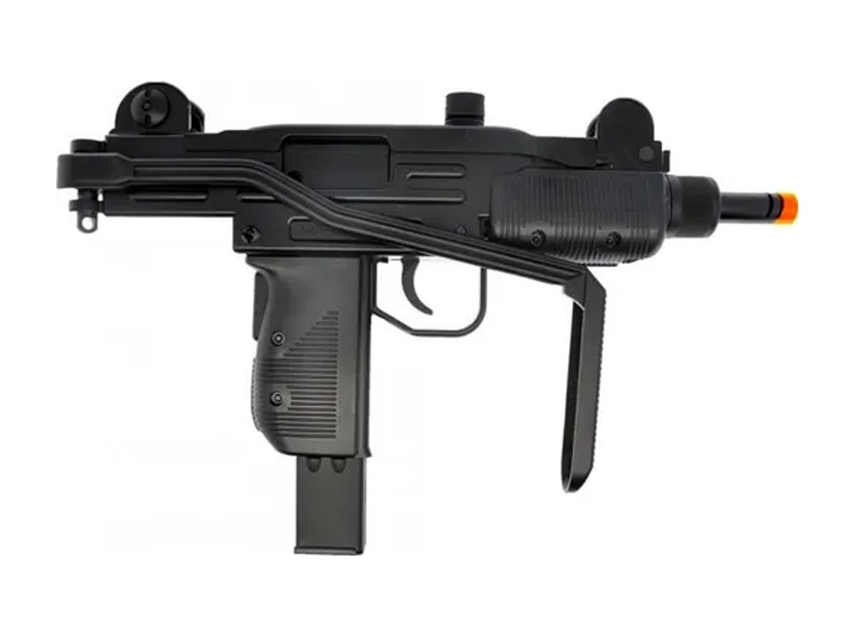 Sub Metralhadora Metal Airsoft Uzi Co2 Gbb Blowback 6mm