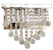 Arandela de Cristal Legítimo K9 Cromado - (8005 T-CH)