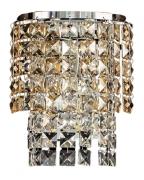 Arandela de Cristal Legítimo K9 Gold- (5048 CG) SEM ESTOQUE