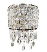 Arandela de Cristal Legítimo k9 Transparente - (3117 T)
