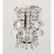 Arandela de Cristal Legítimo K9 Transparente / Luxuoso / Moderno