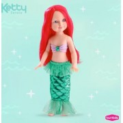 Boneca Ketty Sereia - Bambola