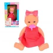 Boneca Miketa Baby Amiguinha Com Chupeta