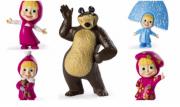 Bonecos Masha E O Urso