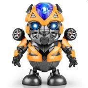 Brinquedo  Robô Tranformers Dançarino Luz E Música