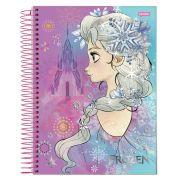 Caderno Universitário Frozen 12 Matérias C/240fls.