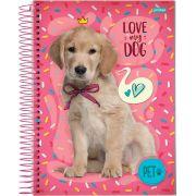 Caderno Universitário My Pet 10 Matérias c/200fls.