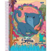 Caderno Universitário Sweetness 15 Matérias c/300fls
