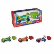 Carro Hero Machines com Lançador Usual Brinquedos