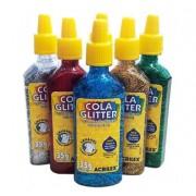 Cola Glitter 35g 12 unidades - Acrilex