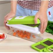 Cortador E Fatiador De Legumes, Frutas E Verduras - Nicer Dicer Plus