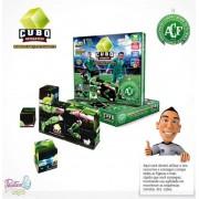 Cubo Interativo Quebra-Cabeça 12 peças  - Positiva Legal