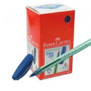 Kit com 50 Canetas Faber-Castell (Trilux 035 Fine)  + 12 Lápis de Brinde.