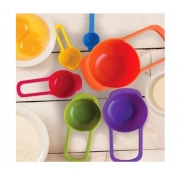 Kit Medidores 6 Peças Colorido