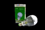 Lâmpada de LED E27 12W Branca  - Dubai