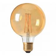 Lâmpada Filamento Led Bulbo E27 4w / 2400w Âmbar Bivolt