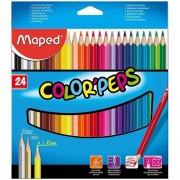 Lápis de cor Color peps 24 cores