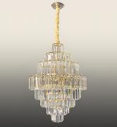 Lustre De Cristal Legítimo K9 Imperial Gold 5080/500GD
