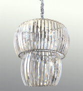 Lustre de Cristal Legítimo K9 Transparente (7010-9 CH)