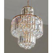 Lustre De Cristal Legítimo K9 Transparente Imperial 7017-5T